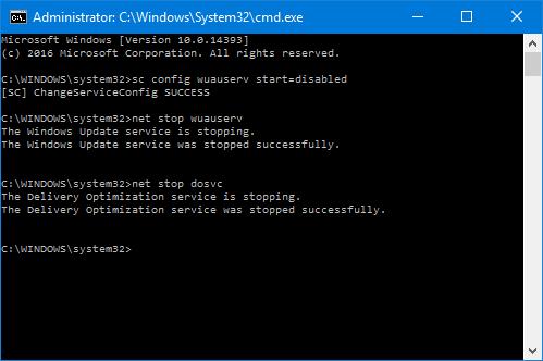 StopWindowsUpdates