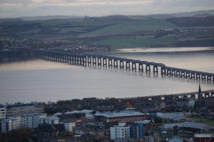 Tay Bridge, the gateway to Dundee by train.