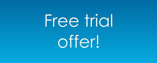 Free trial offer!